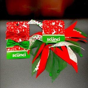 Scunci Holiday Hair bundle. OSFM NEW